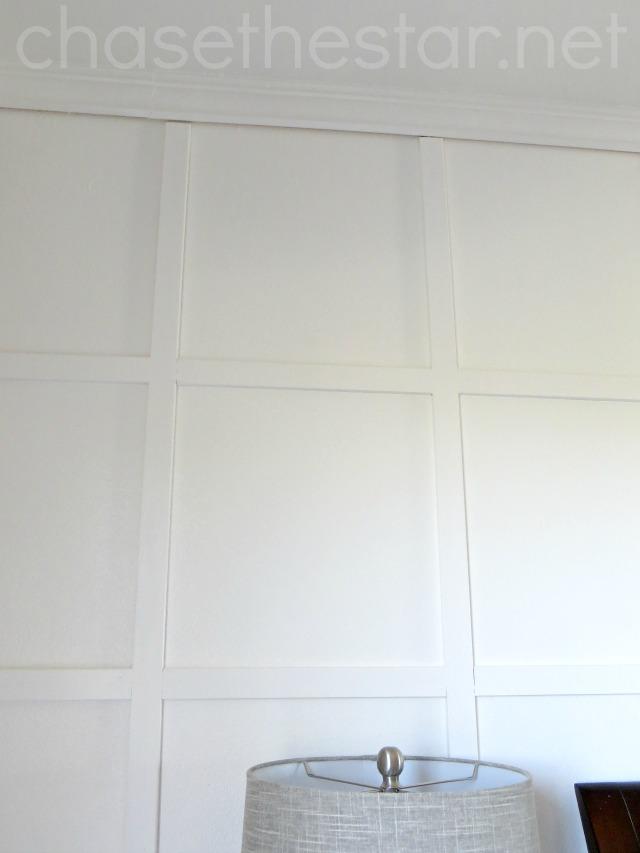 Board And Batten Grid Wall