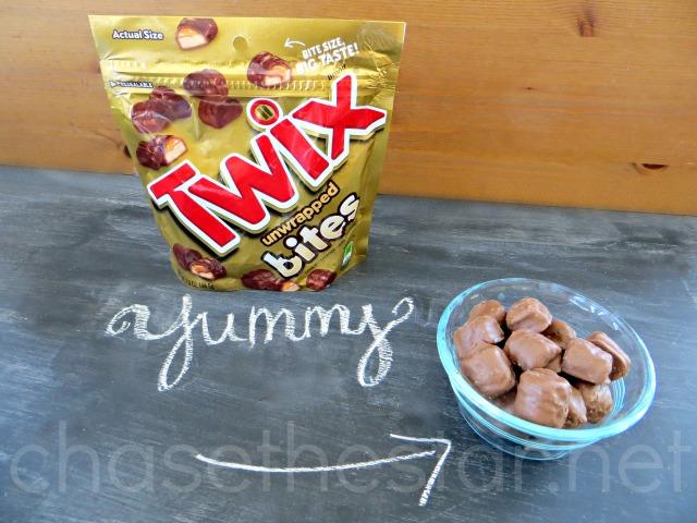 DeliciousTwix® Bites #EatMoreBites #CollectiveBias #shop #CBias #dessert #IceCream #candybar #Twix