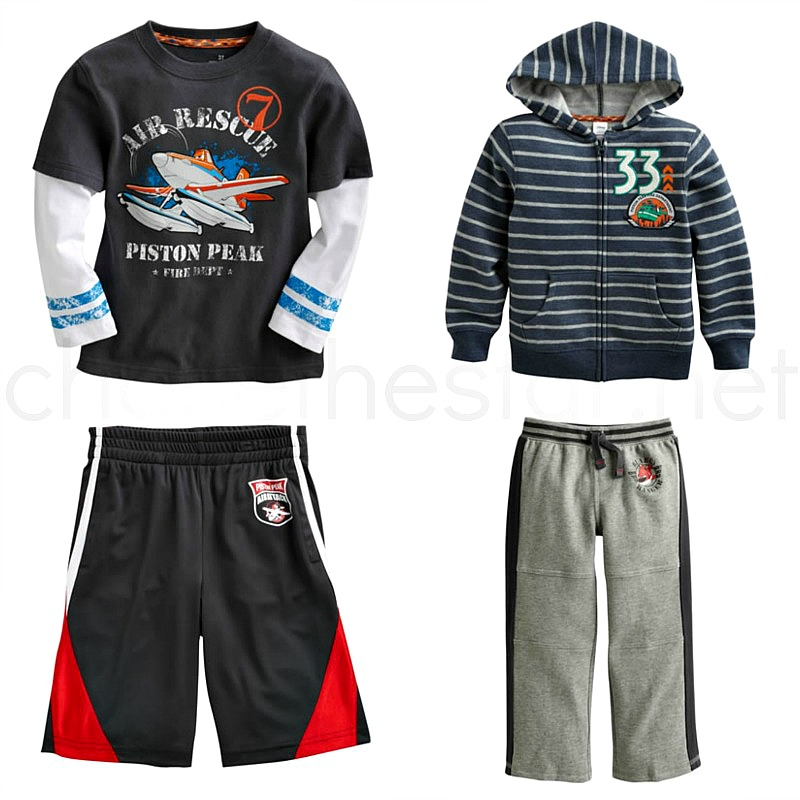 Disney Planes Fire and Rescue exclusive apparel collection at #Kohls! #MagicAtPlay