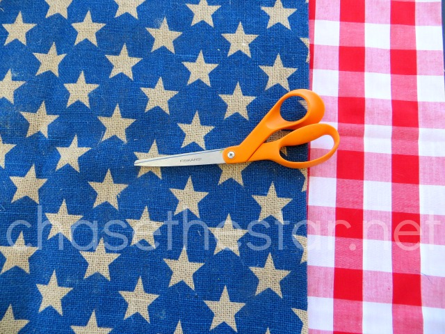 Easy Patriotic Wall Art via Chase the Star
