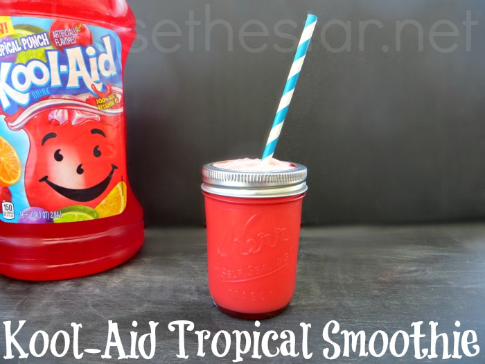 Kool Aid Tropical Smoothie #4thofJuly #MemorialDay #Dyed #tableware # ...