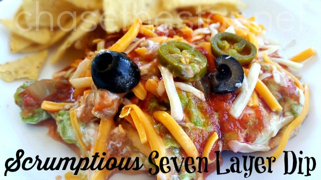 Scrumptious Seven Layer Dip via Chase the Star #ChooseSmart #CollectiveBias #shop #CBias #SmartandFinal