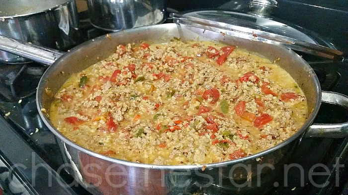 Spicy Ground Turkey and Quinoa Recipe via Chase the Star #SauceOn #CollectiveBias