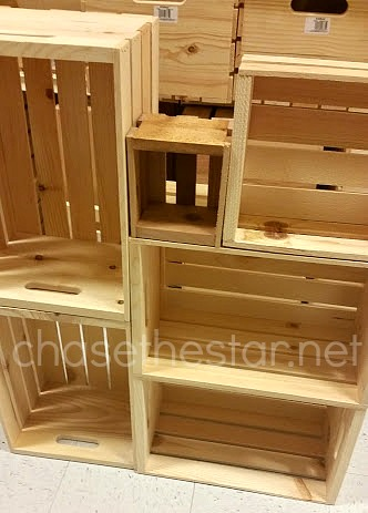 Wood Crates from @MichaelsStores #michaelsmakers