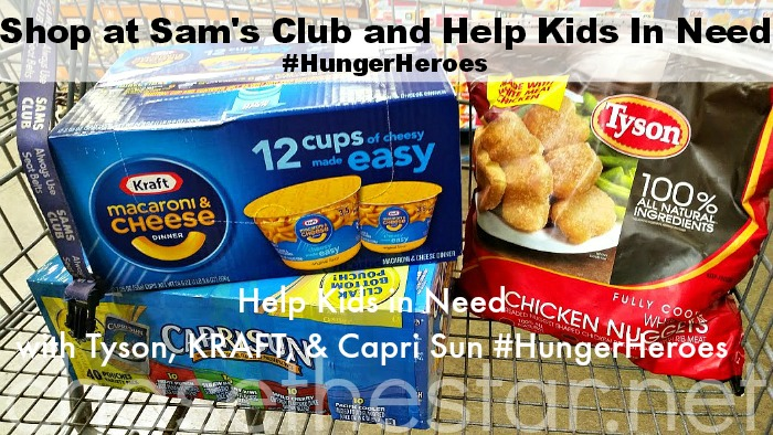 #ad Shop at Sam's Club and Help hungry kids by purchasing these products #ad #HungerHeroes #collectiveBias