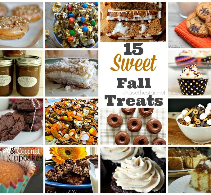 15 Sweet Fall Treats via Chase the Star #fall #dessert #recipe #Autumn #cooking #baking