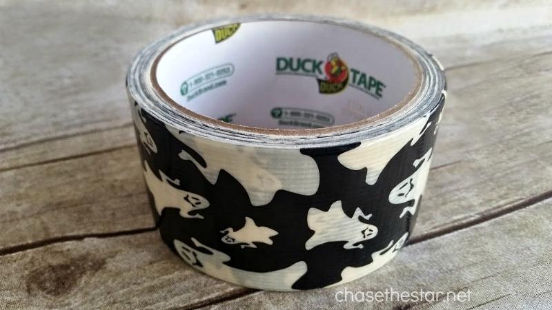 Duck Tape #TrickYourPumpkin #Halloween
