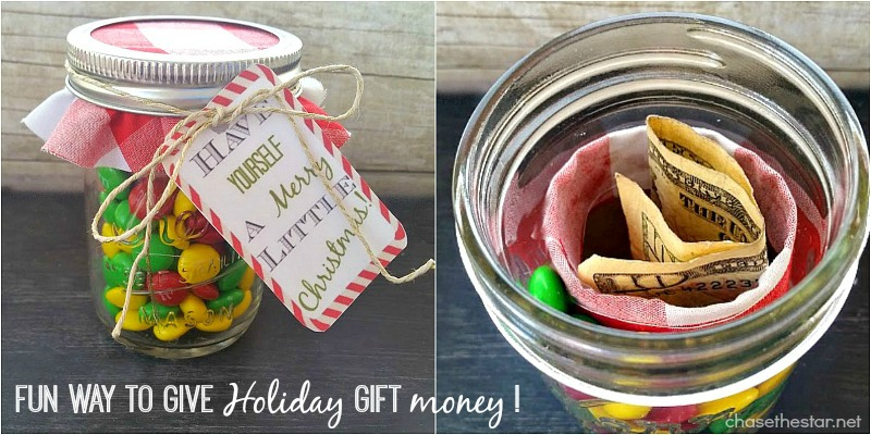 Fun way to give #holiday gift money! via Chase the Star