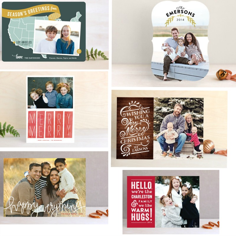 Beautiful Holiday Cards from Minted! @minted #christmas #holidaycard