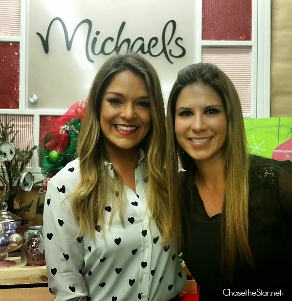 Hanging with Sabrina Soto at the Pinterest Party at @MichaelsStores @sabrina_soto