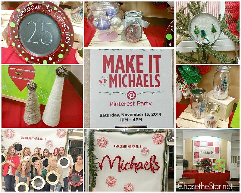 Make It With Michaels Pinterest Party Sneak Peek!