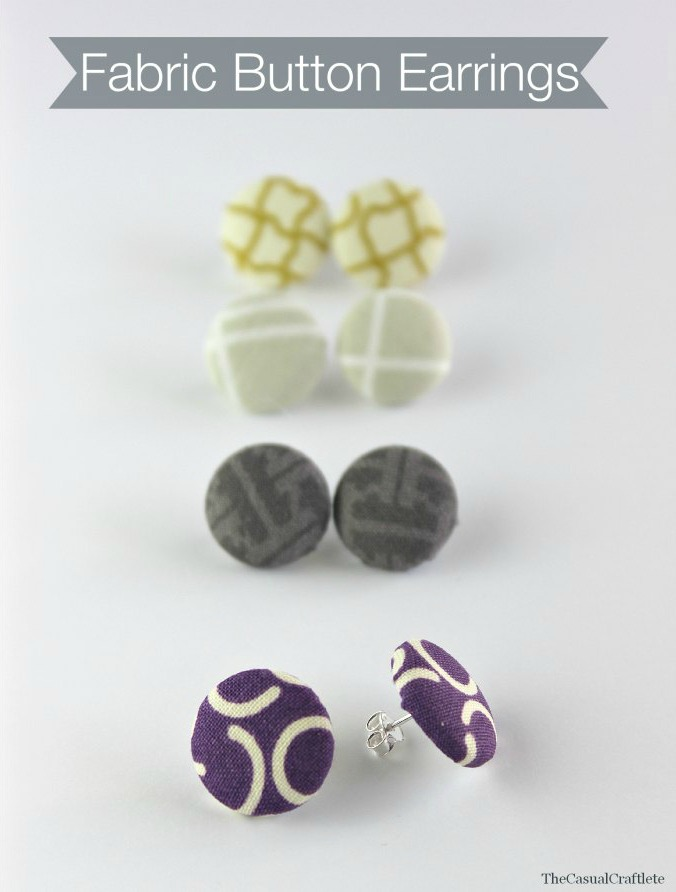 Fabric-Button-Earrings-from-www.thecasualcraftlete.com_