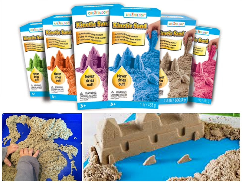 Kinetic Sand at Michaels