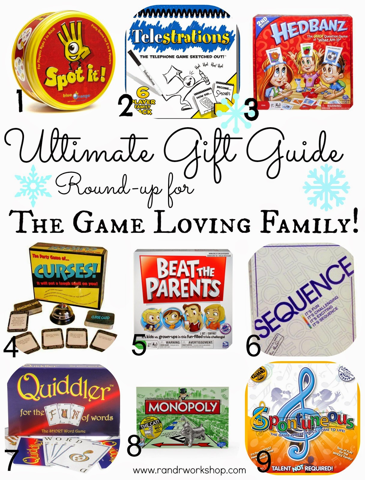 gift ideas for the game loving family