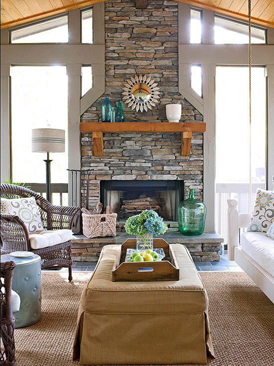 Over the fireplace ideas for Better homes and gardens fireplace