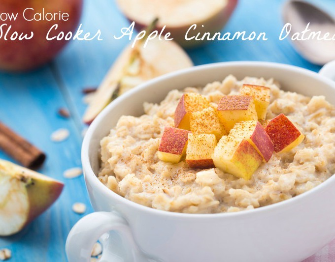 Slow Cooker Oatmeal via Chase the Star feature