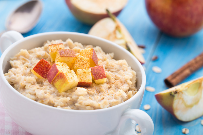 Slow Cooker Oatmeal via Chase the Star