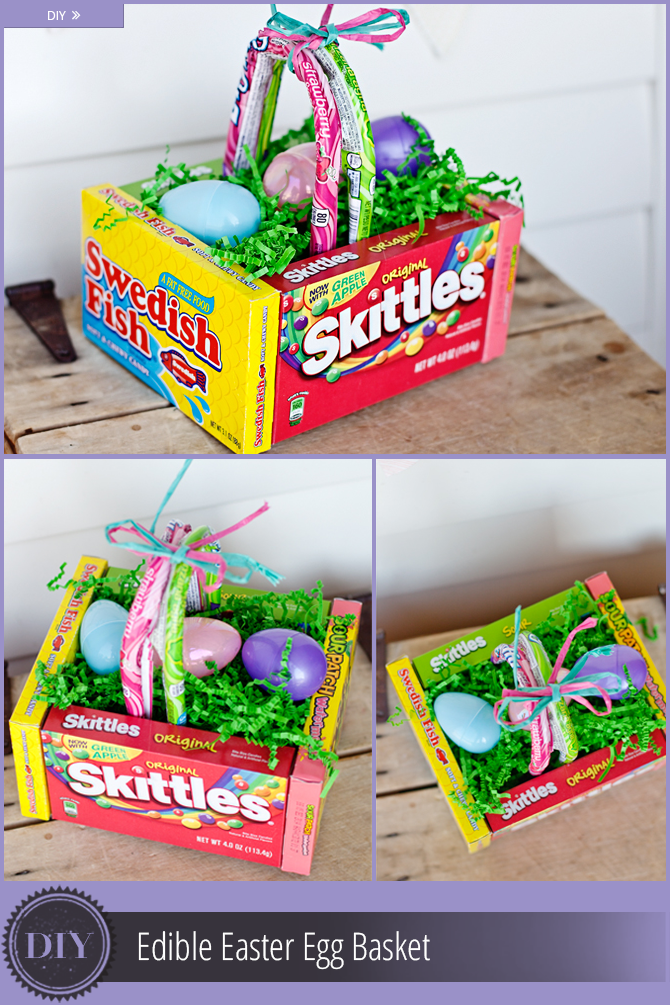 Diy easter basket ideas edible easter basket negle Gallery