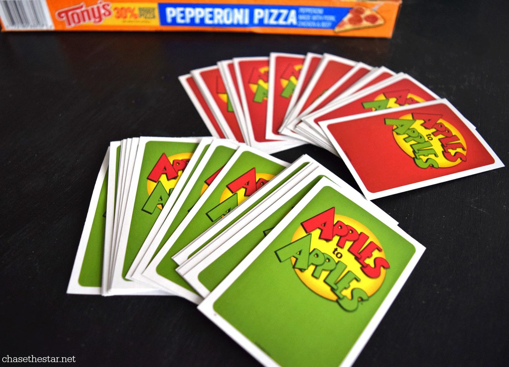 Game night! #applestoapples