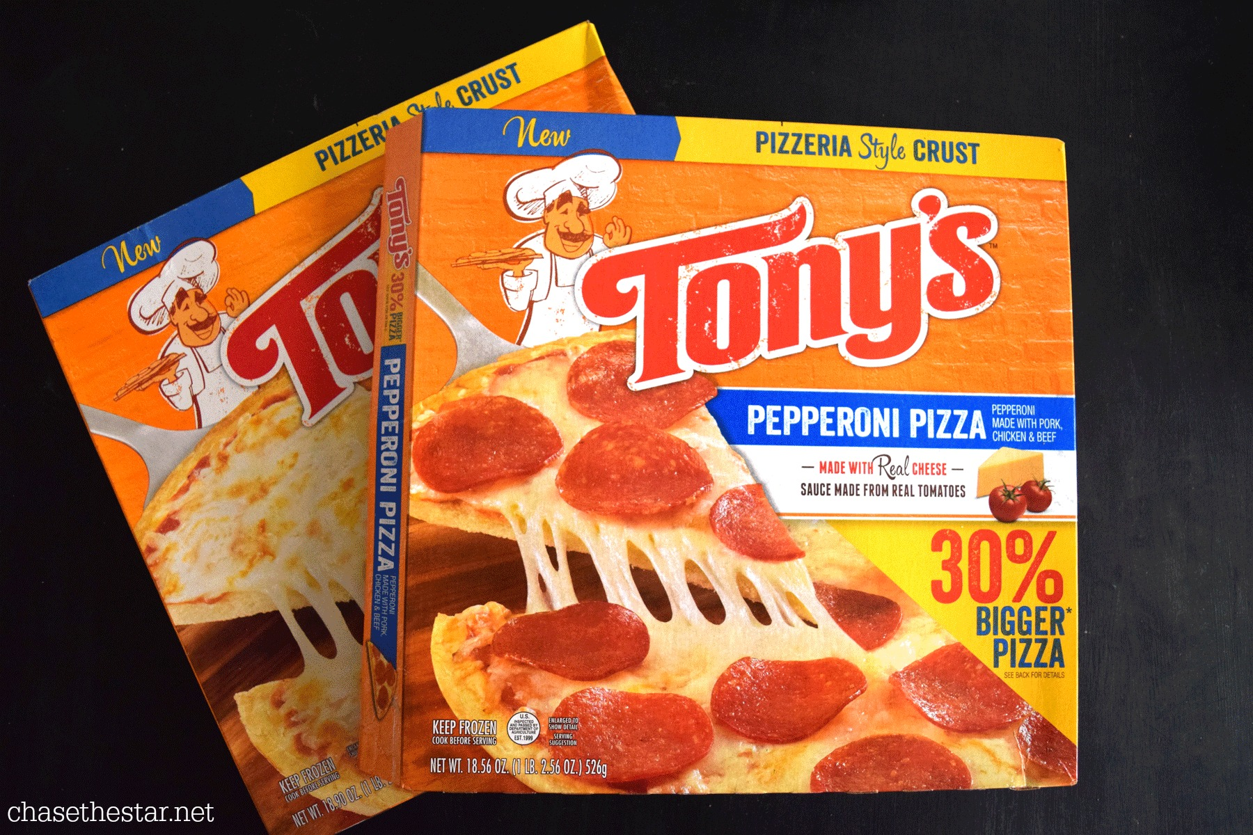 Tonys Pizza #BigPizzeriaTaste #Pmedia  #ad
