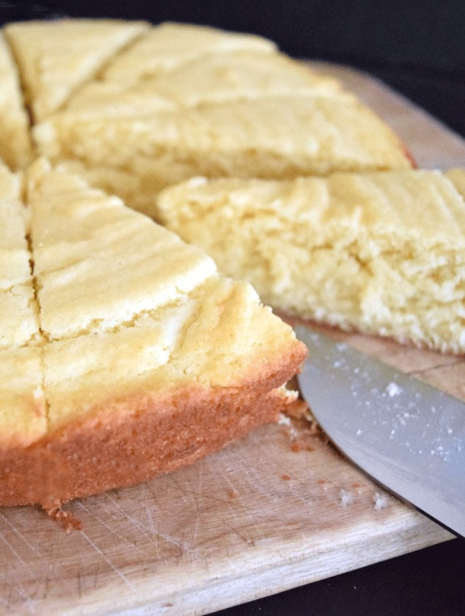 Delicious, #homemade and easy Honey Butter Cornbread #recipe #PanFan #IC #ad