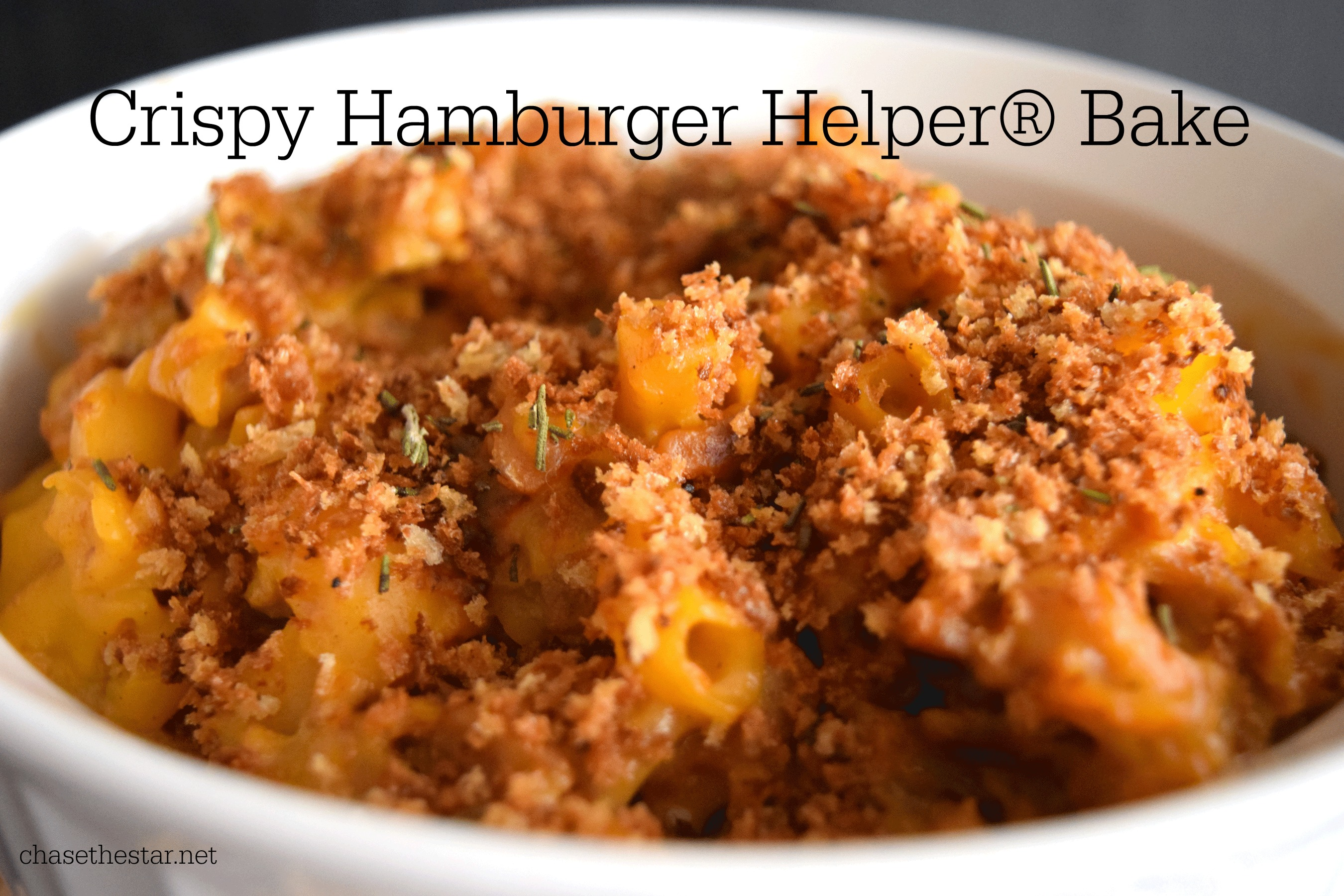 Hamburger Helper® Bake content