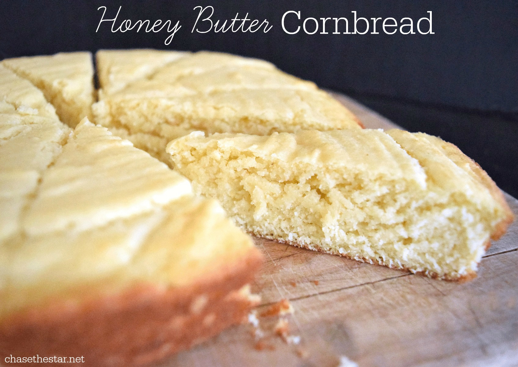 The BEST Cornbread #recipe ever! Honey Butter Cornbread #PanFan #IC #ad