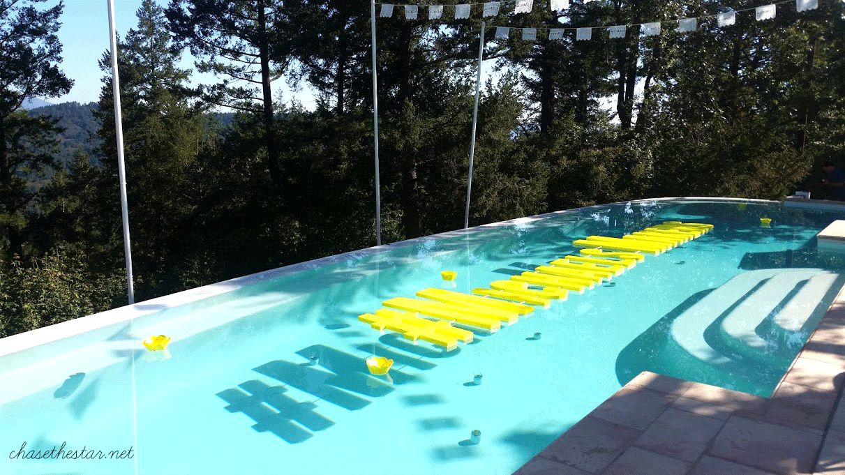 #MichaelsMakers Amazing pool at the Summit this year!