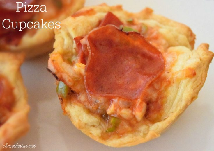 As an afterschool snack or as part of a game day spread, easy to make Pizza Cupcakes are easy and delicious!