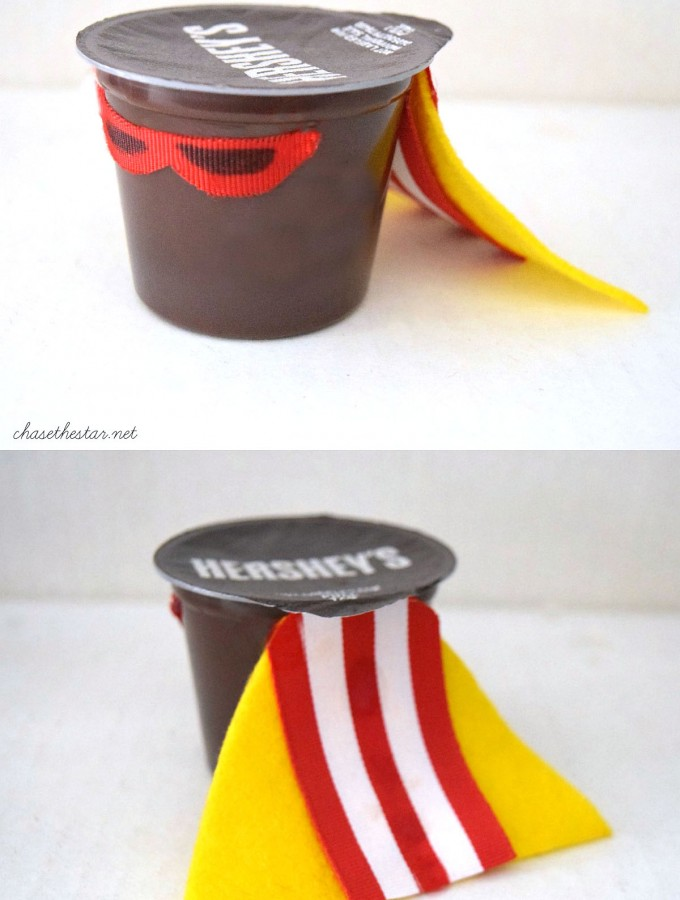 Superhero Pudding Cup