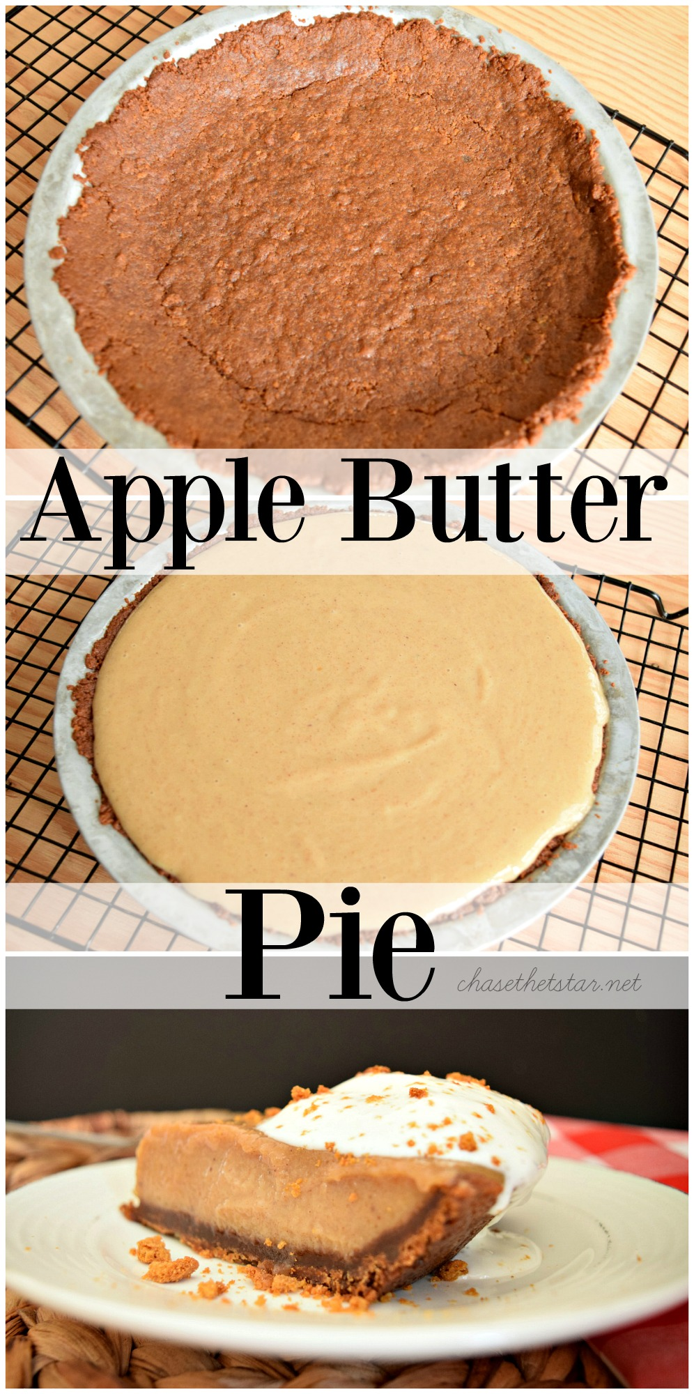Everyone loves apple pie, this fall make an Apple Butter Pie! This is an easy recipe and the perfect fall dessert! #WayfairPieBakeOff