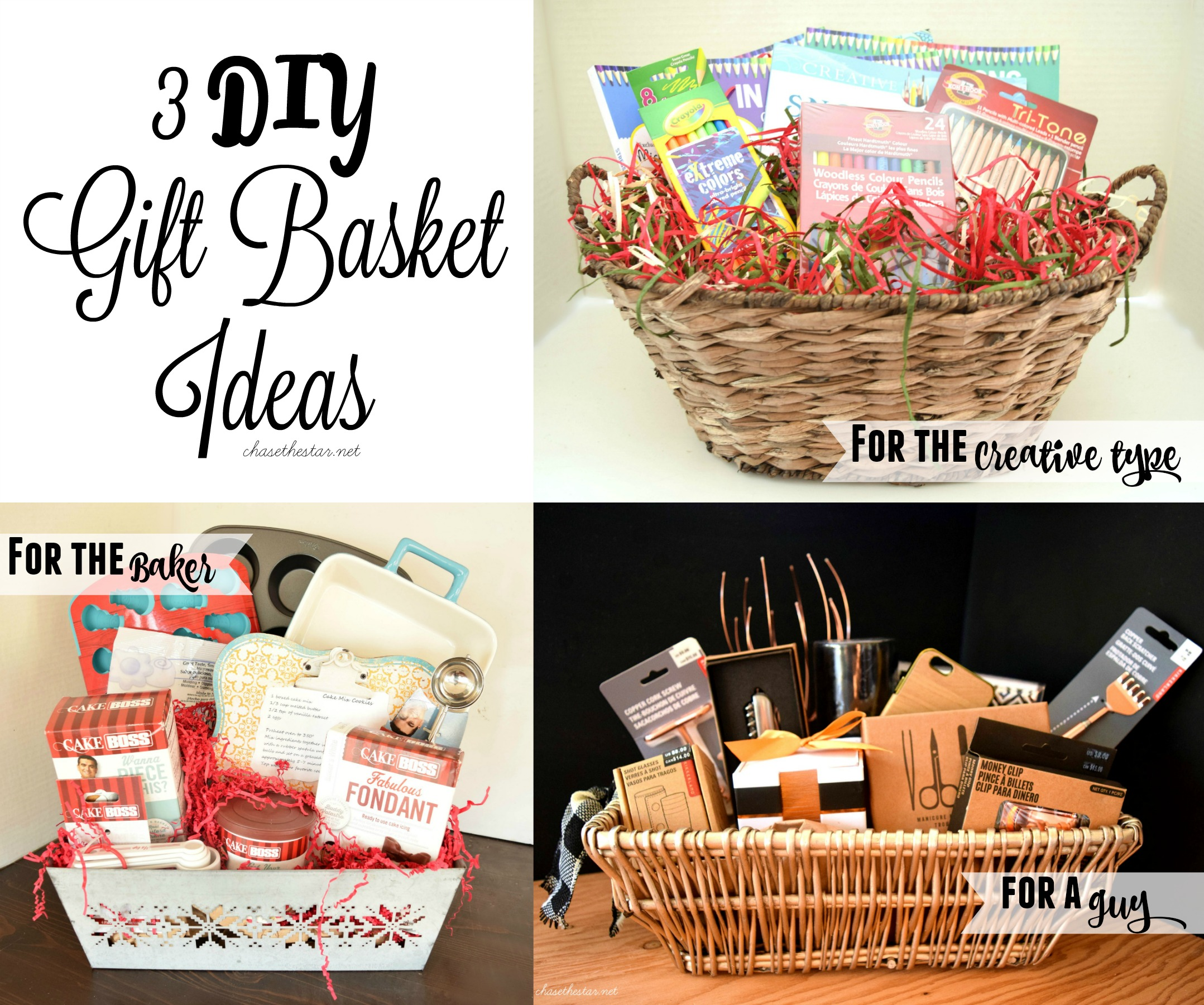 3 DIY Gift Basket Ideas