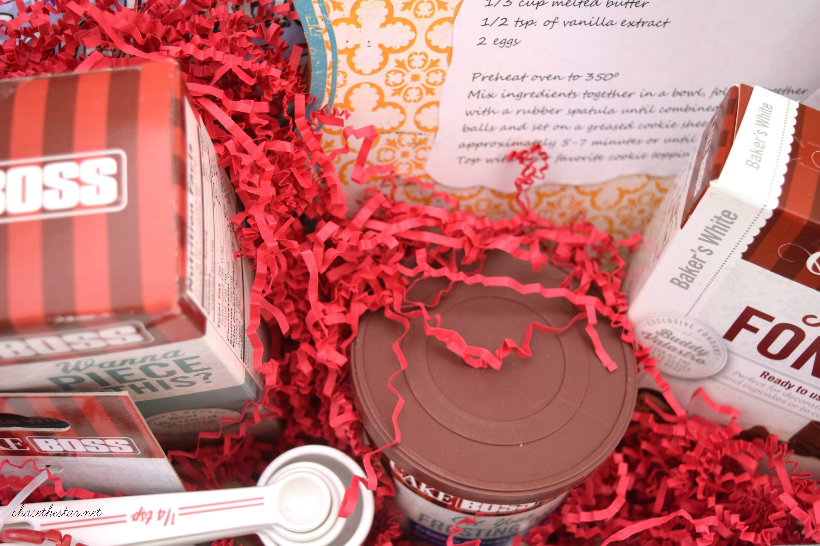 DIY Basket Idea for the Baker in your life! @MichaelsStores #michaelsmakers