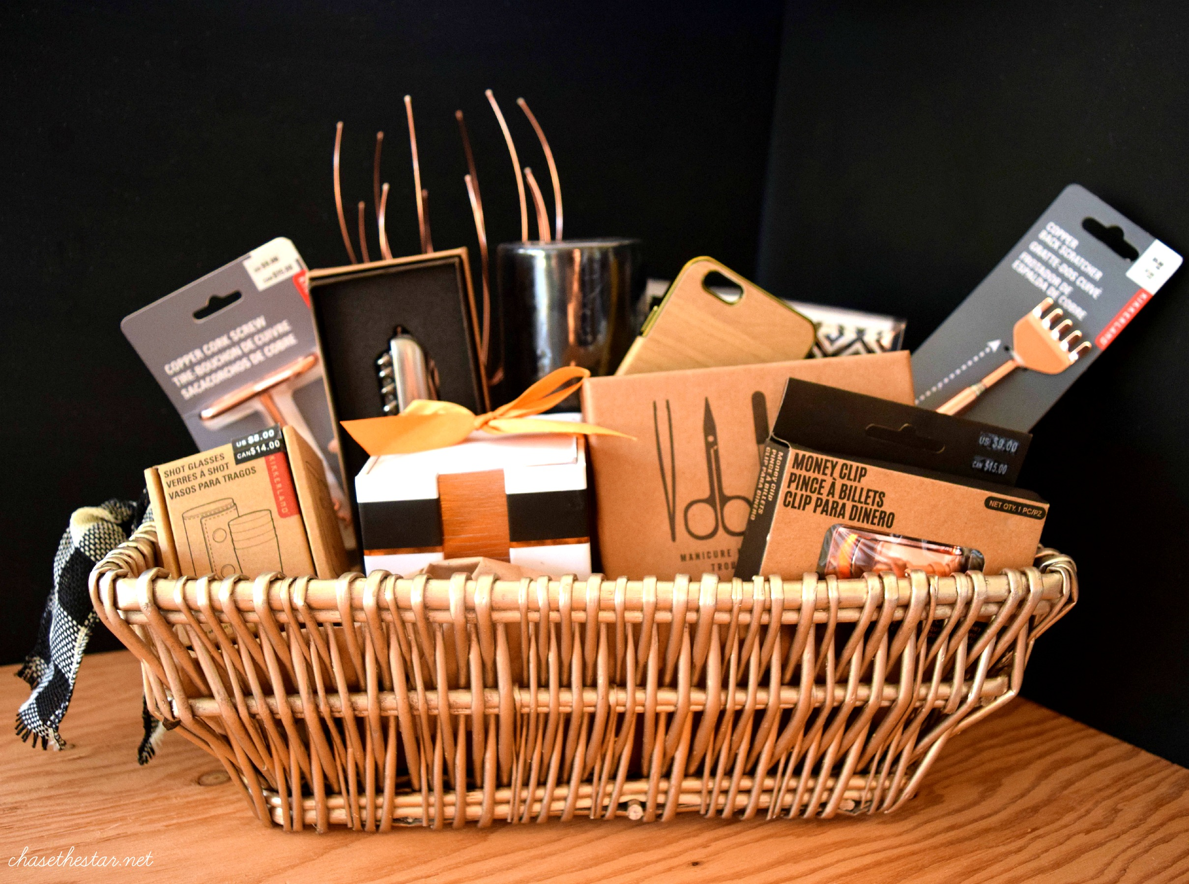 Men's Gift Basket #michaelsmakers #madewithmichaels