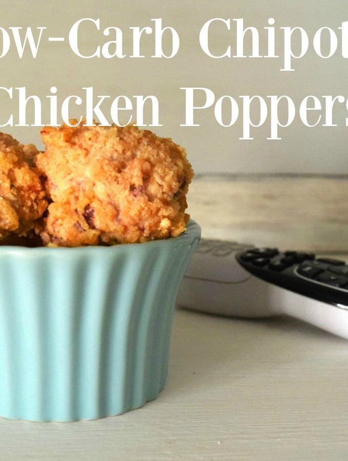 Low Card Chipotle Chicken Poppers #vivaLaMorena #Cbias #ad feature