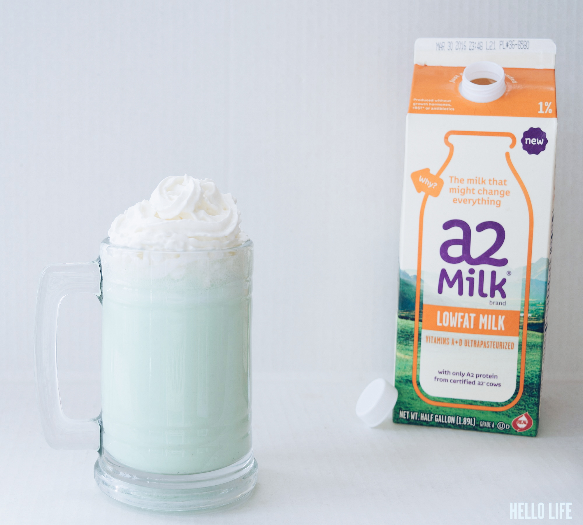 Shamrock Shake- This homemade version of a spring time favorite is sure to tempt your tummy! Not just delicious, but this recipe is also lactose friendly for those who are looking to enjoy a Shamrock treat while keeping your stomach healthy and happy. For dessert or any time at all!