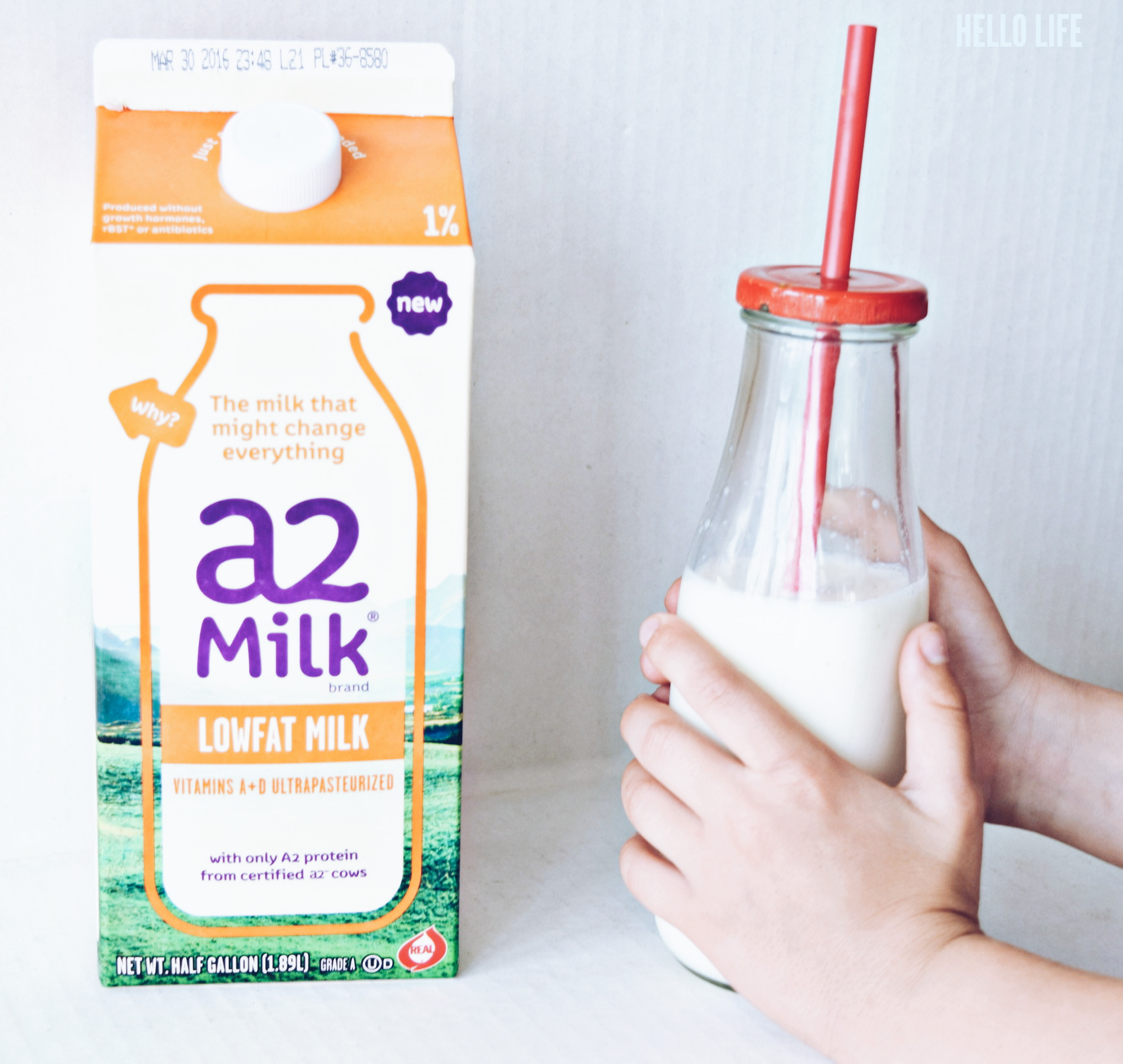 Better For Your Tummy A2 Milk #a2milk, #IC #ad