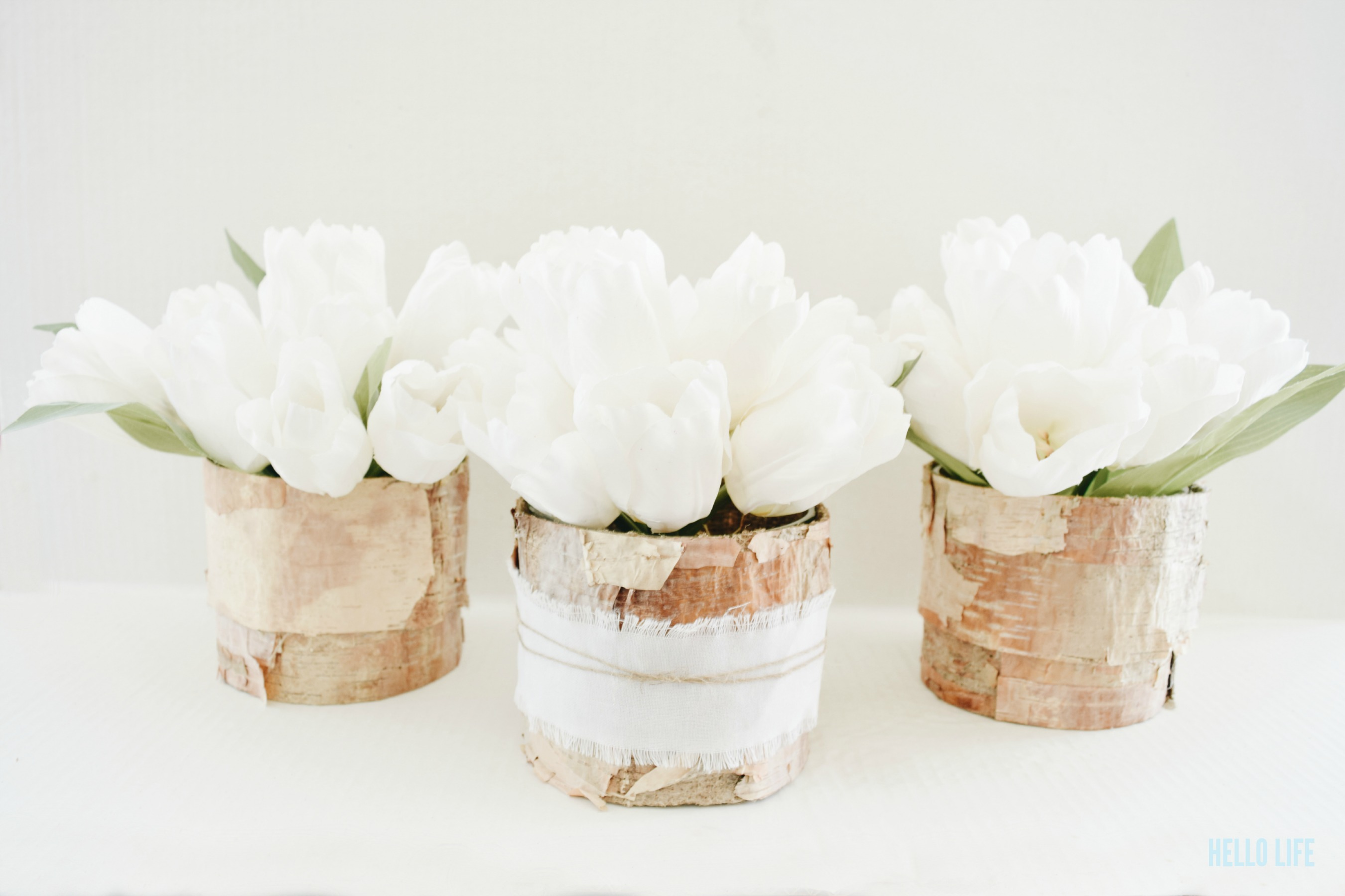DIY Rustic Centerpiece- Simple yet beautiful rustic centerpiece idea for a wedding reception, or any type of party. Easy to make on the cheap!