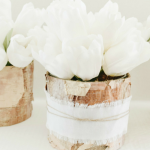 DIY Rustic Centerpiece- Simple yet beautiful rustic centerpiece idea for a wedding reception, or any type of party. Easy to make on the cheap!""