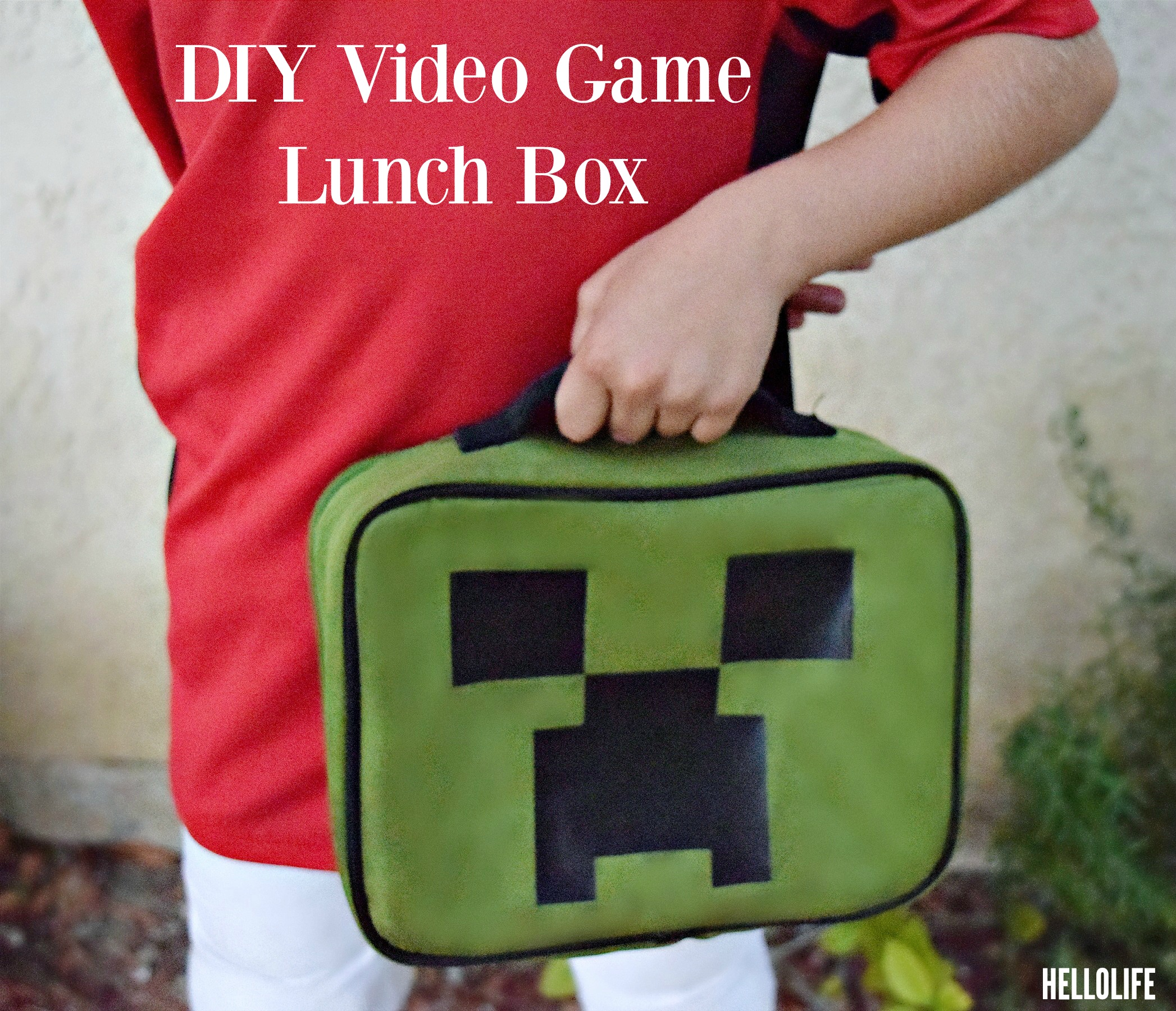 DIY Minecraft Lunchbox #backtoschool