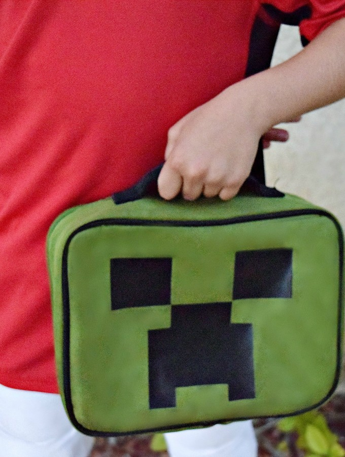 DIY Minecraft Lunchbox