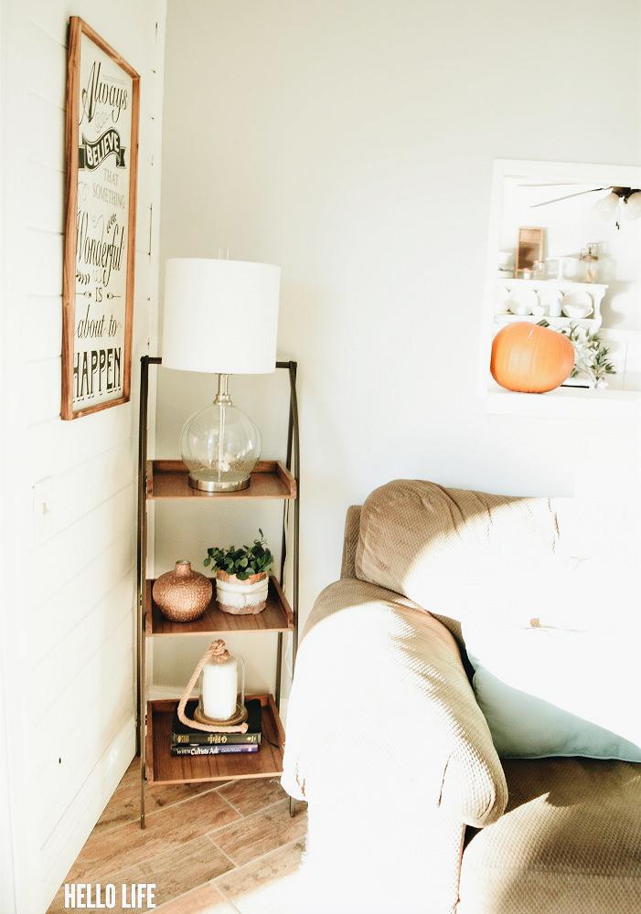 Pretty Rustic Shelf