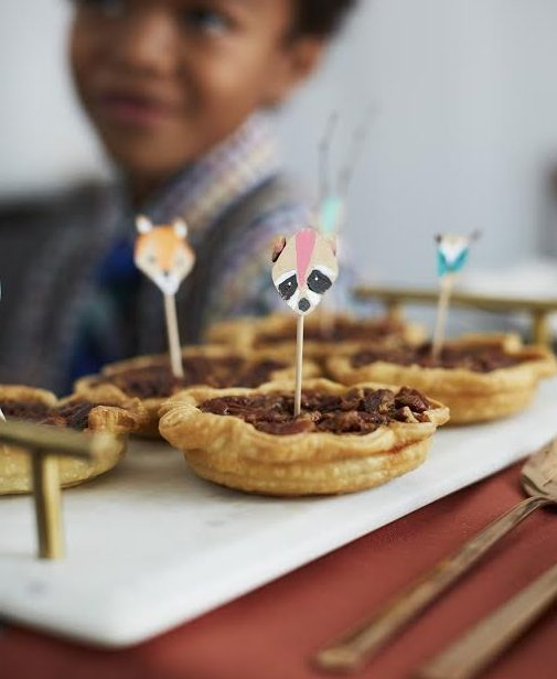 Baking with Kids: Mini Pecan Pie Recipe!