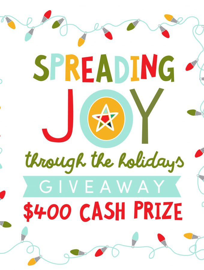 Spread the Joy Cash Giveaway!
